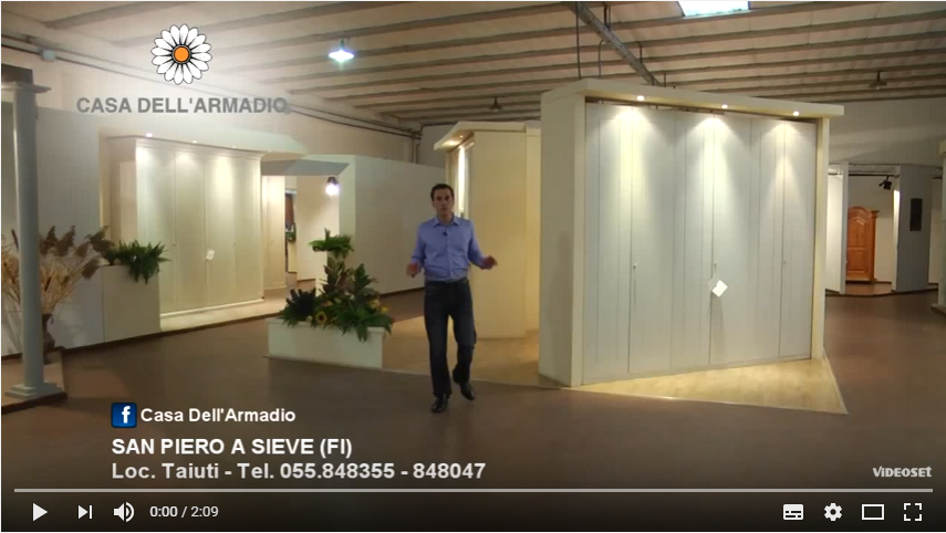 Video Presentazione Showroom Armadi Firenze, Armadi Firenze, Armadi ...