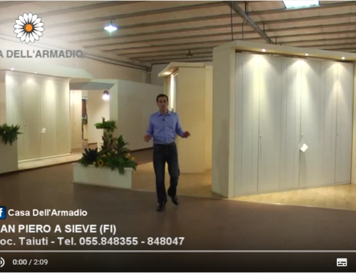 Casa dell'Armadio Video Presentazione Showroom Armadi Firenze