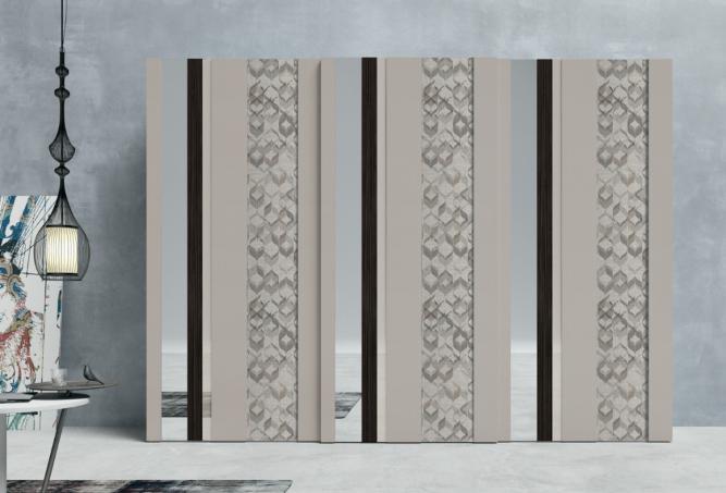 Decorazione Ante Armadio : Armadi firenze armadio art.129t107 anta scorrevole laccato essenza