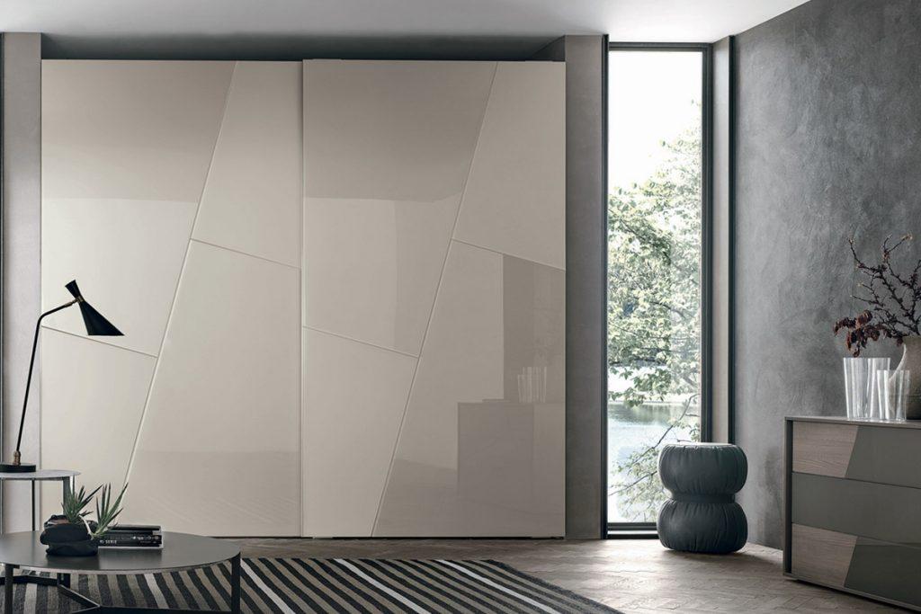 Armadi firenze armadio anta scorrevole vetro for Armadi design moderno