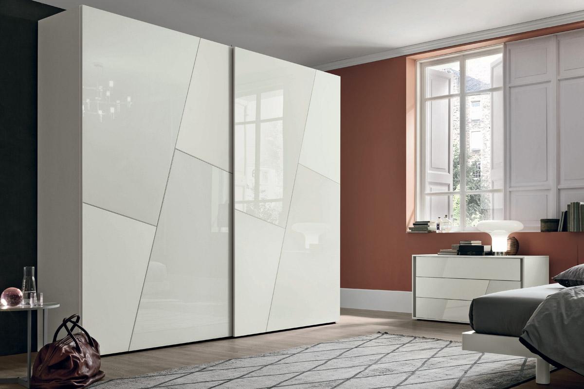 Armadio Nero Opaco : Armadi firenze armadio art.129t137 anta scorrevole vetro satinato e